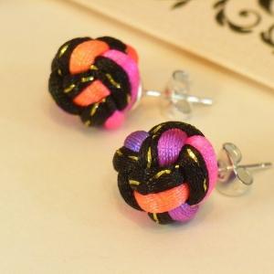 orecchini con nodi cinesi