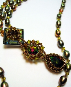 collana con perline by scarlett lanson