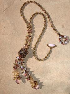 lariat in cristalli e conterie by scarlett lanson