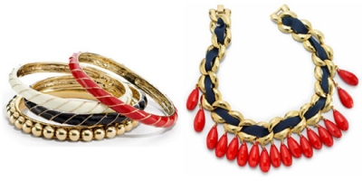 Gioielli etnici oro e perline