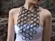 bijoux riciclati collana di gomma