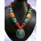 bijoux collana colorata