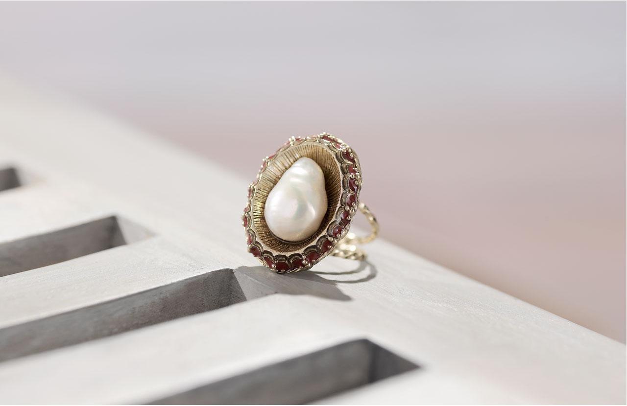 Anello chanel collezione marina 2010