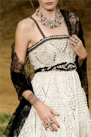 Chanel bijoux and tatoo spring 2010