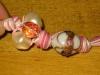 collana con nodi e perle terzo step