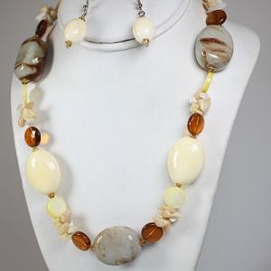 Collane bigiotteria video blog gioielli e bijoux for Orecchini con pietre dure fai da te