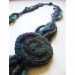 Collana lana fatta a mano