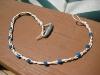 Collana di perline con nodi cinesi