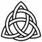 nodo celtico tre punte