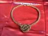 collana nodo cinese o celtico di conterie