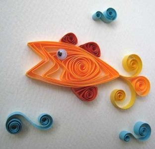 quilling-pesce