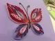quilling-farfalla colorata