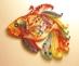quilling-pesce colorato