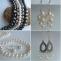 orecchini perle fatti a mano