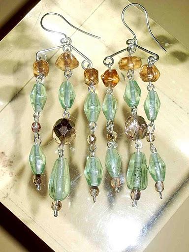orecchini chandelier by giulia boccafogli