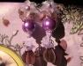 orecchini con perle viola perle by cinzia papagna