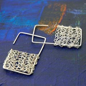 orecchini_all_uncinetto in argento