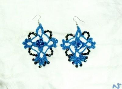 orecchini_all_uncinetto blu