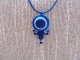 quilling: pendente blu