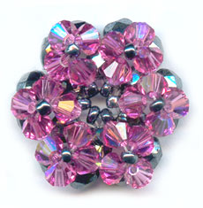 50 Cristalli Swarovski Tondi 4 Mm Color Emae