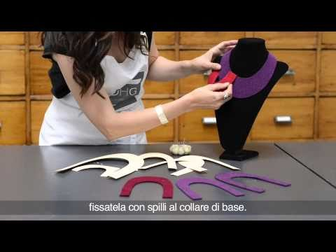 Video Tutorial Collana con feltro termoformabile