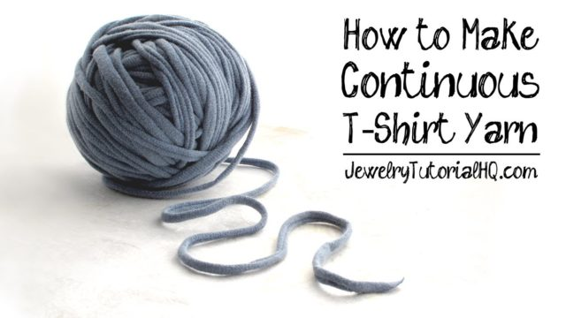Come trasformare una maglietta in fettuccia