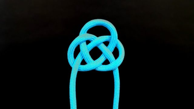 How to tie a Double Coin knot