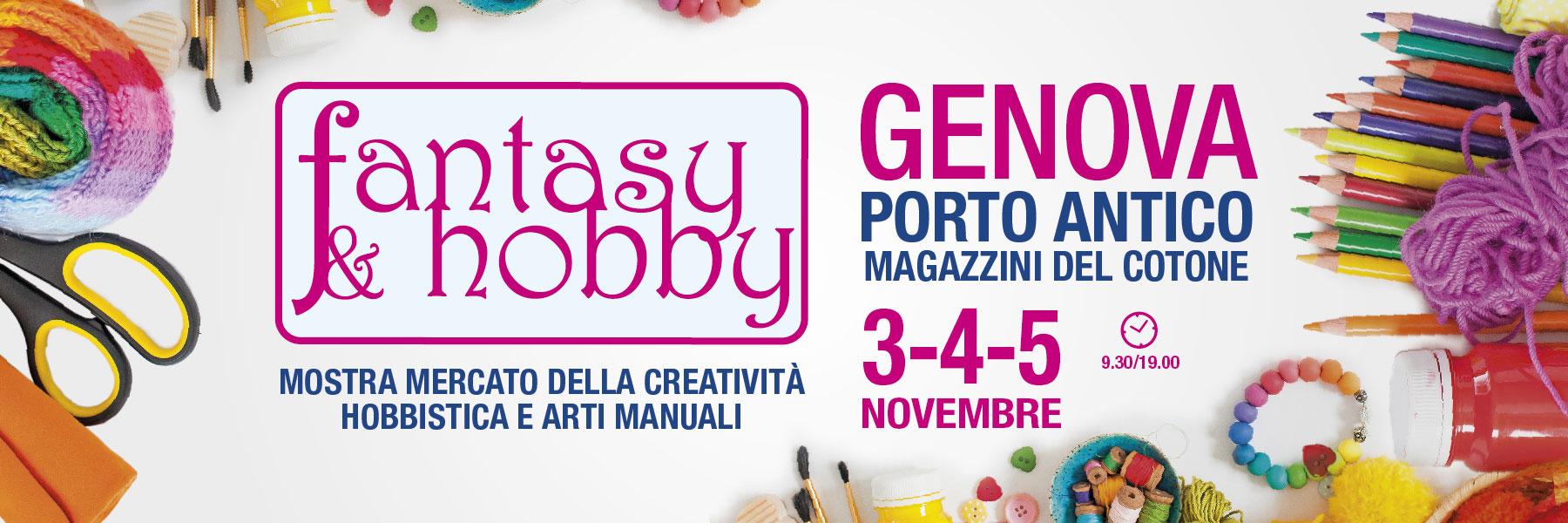 Fantasy e Hobby Genova novembre 2017
