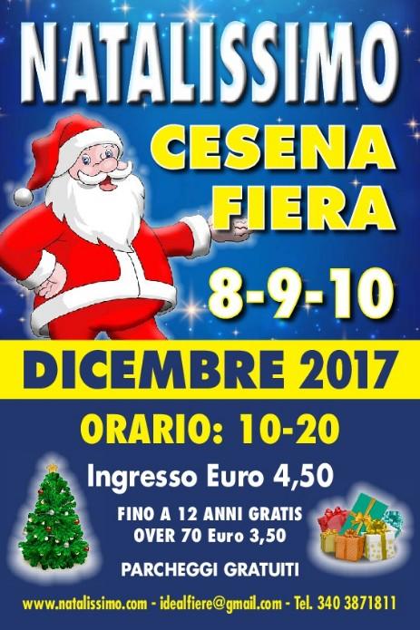 Natalissimo Cesena dicembre 2017