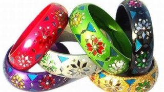 Regali di Natale fai da te per amiche: bangle decorati